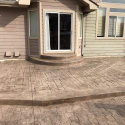 Stamped Patio Design