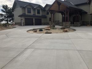 Large Driveway Concrete