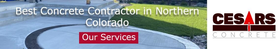 concrete contractor northern Colorado