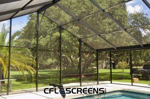 Ormond Beach custom pool screen enclosure