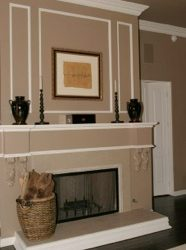 Can you see your home with interior painting as nice as this? Contact Change My Paint!