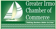 Greater Irmo Chamber of Commerce logo and badge.