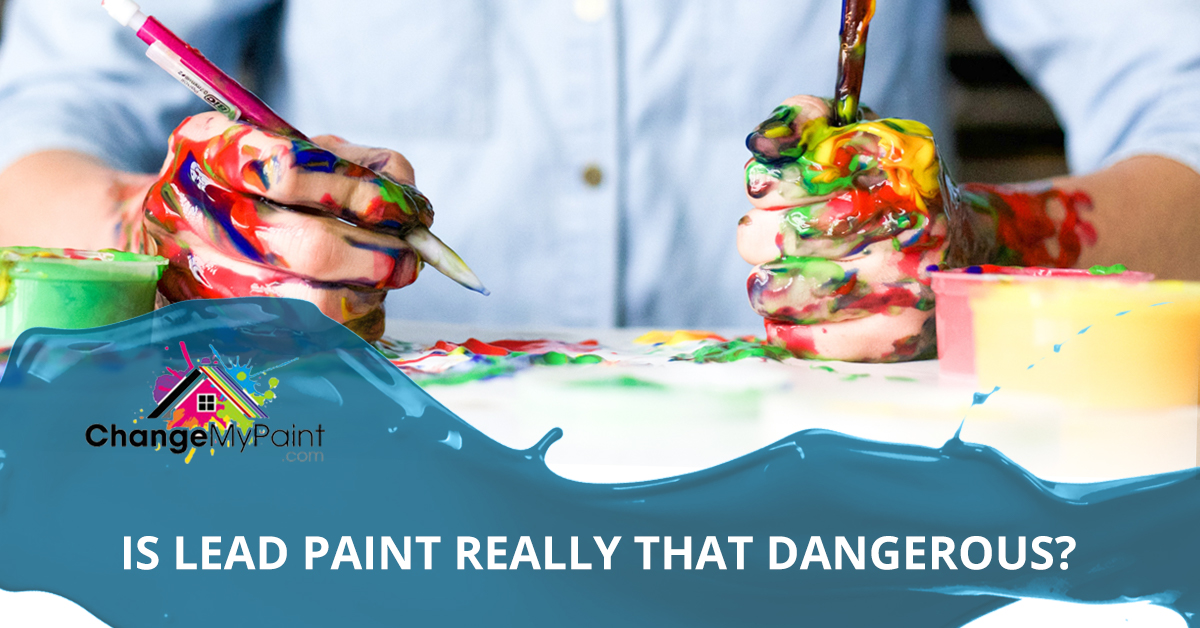 "A blog banner for ""is lead paint really that dangerous?"""