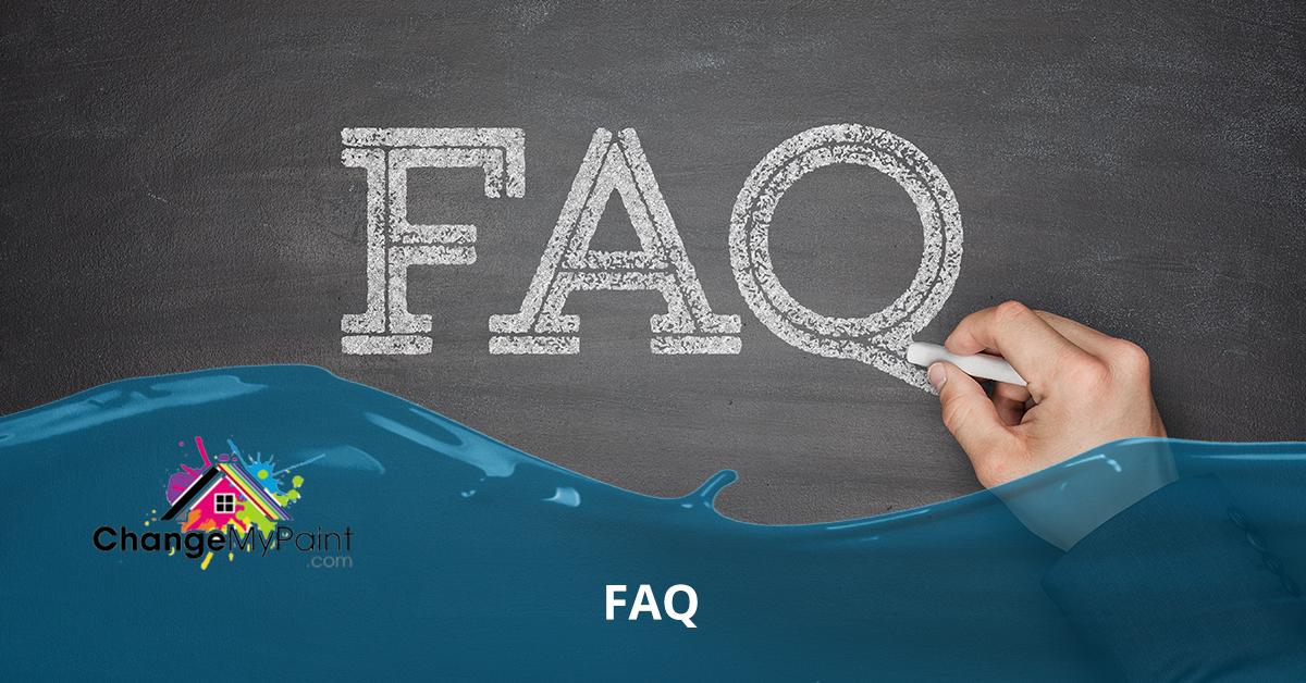 "A hand writes out ""FAQ"" on a chalk board."