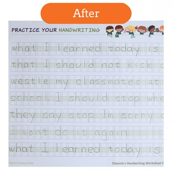 penmanship workbook