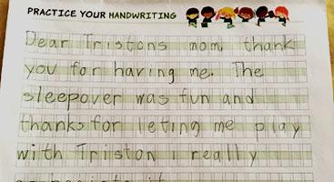 handwriting worksheet, handwriting book