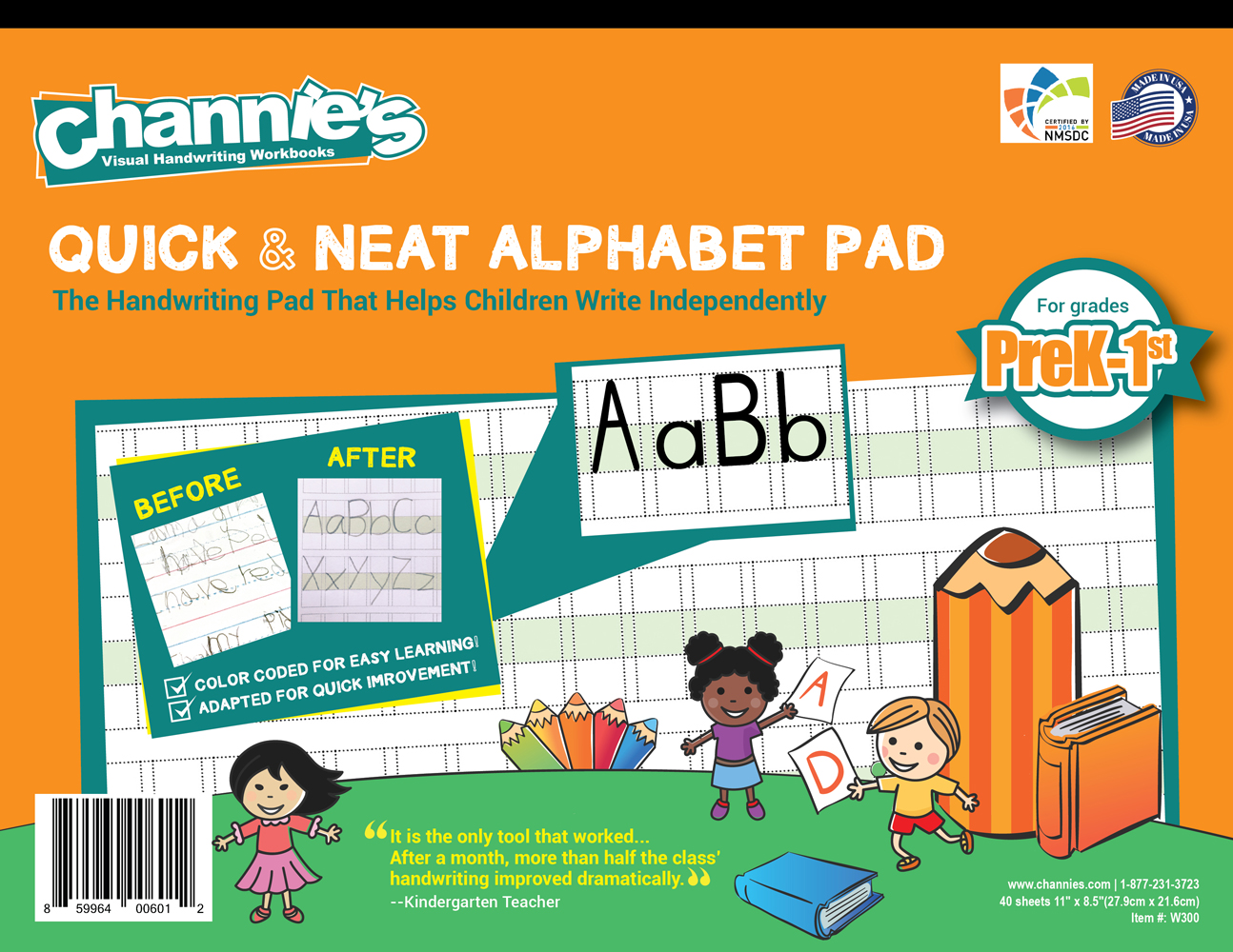 Channies_PreK1st_Cover-01