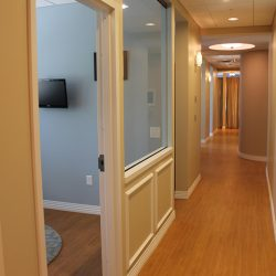 Picture of one of the hallways of our Charlotte dentist office