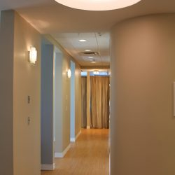 Hallway from our Charlotte progressive dentist office