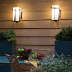 Image of outdoor lighting fixtures
