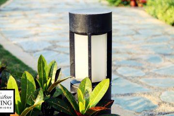 Image of outdoor path lighting