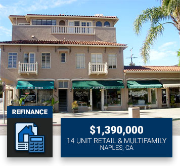 $1,390,00014 Unit Retail & MultifamilyNaples, CARefinance