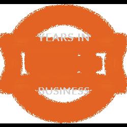 40+ Years Experience Badge