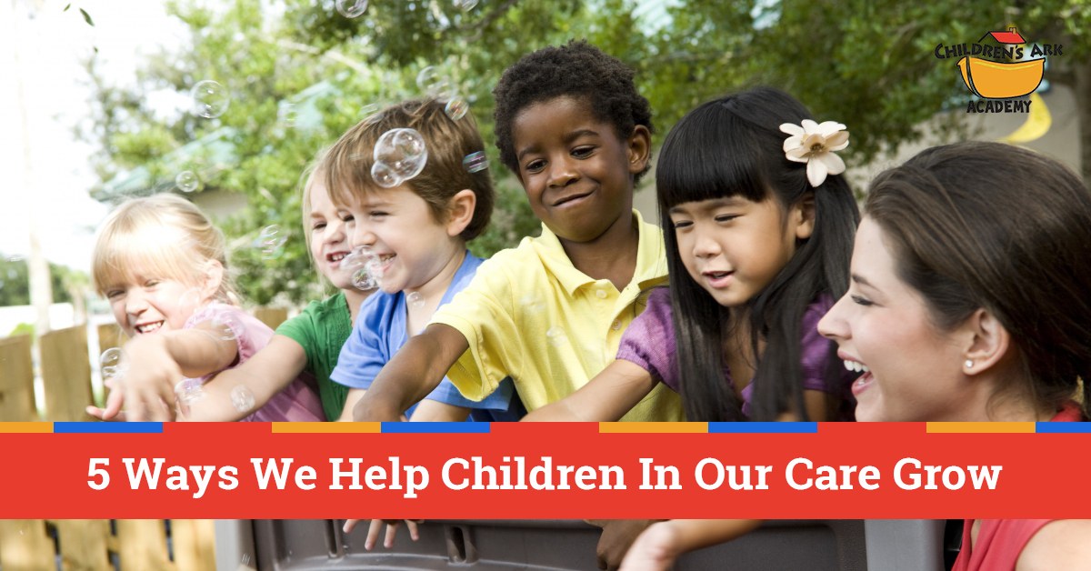 Christian Daycare Alpharetta: We Help Children With These Five Aspects