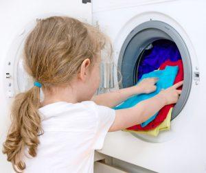 child laundry