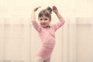 child doing ballet
