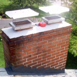 Post Restoration chimney by Chimney Care Plus