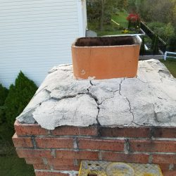 Cracked Crown Repair From Chimney Care Plus