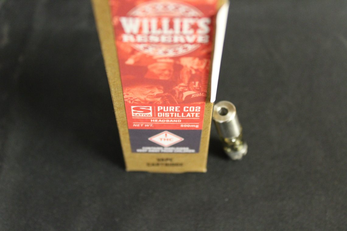Willie's Reserve Vape Cartridge Reviews