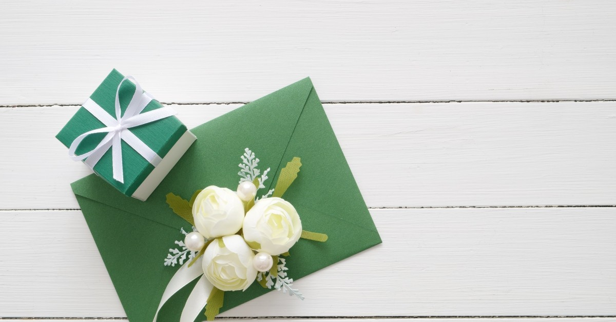 Wedding Gift and Envelope