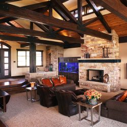 Beautiful Custom Home Living Room - Classic Custom Builders