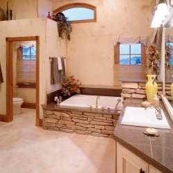 Custom Home Master Bathroom - Classic Custom Builders