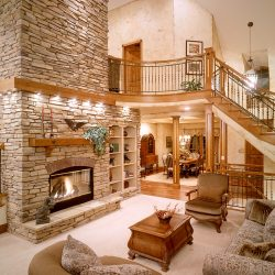 Breathtaking Main Room in Luxury Home - Classic Custom Builders