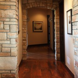 Hallway in Luxury Custom Home - Classic Custom Builders