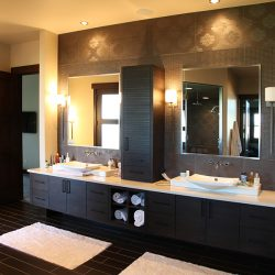 Master Bathroom in Beautiful Custom Home - Classic Custom Builders