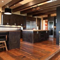 Wide View of Luxury Home Kitchen - Classic Custom Builders