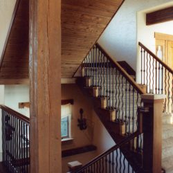 Beautiful Staircase of New Custom Home - Classic Custom Builders