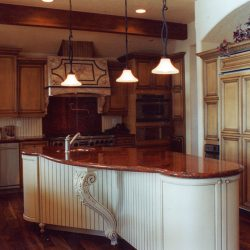 View of the Beautiful Kitchen in Custom Home - Classic Custom Builders