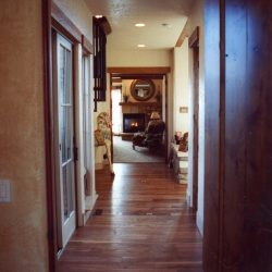 Main Hallway of New Home - Classic Custom Builders