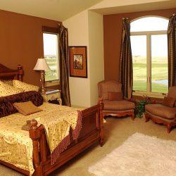 Master Bedroom in New Custom Home