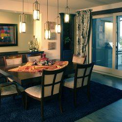 Dining Room in New Custom Home