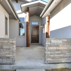 Entryway of New Custom Home