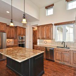 Open Kitchen in Custom Home