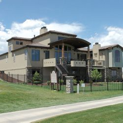 Custom Home With Walk-Out Basement