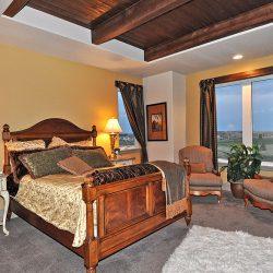 Custom Home Bedroom