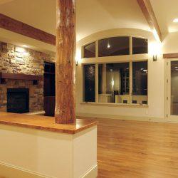 Open Custom Home Living Room