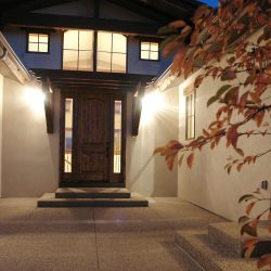 Front Entry Way to New Custom Home - Classic Custom Builders