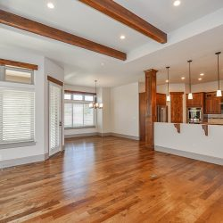 Modern Living Room With Wood Floors