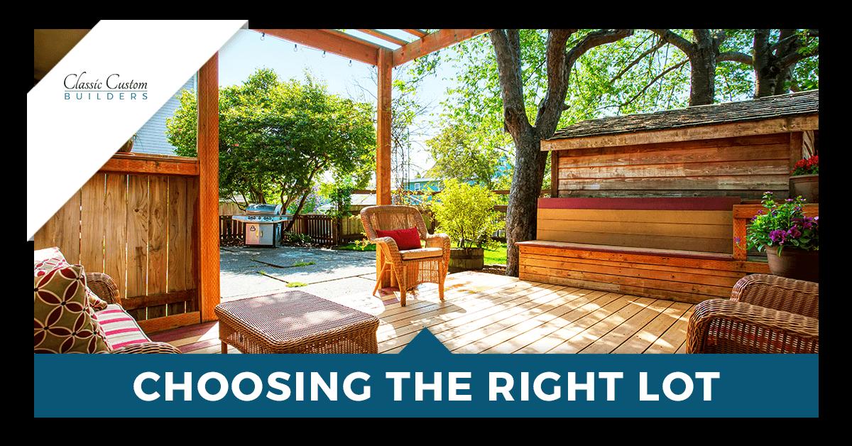 Choosing the Right Lot