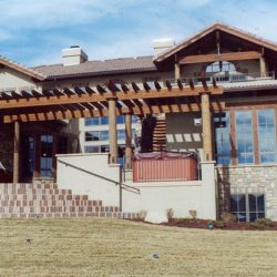 Custom Home Patio and Entryway