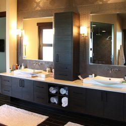 Custom Built Home Interior Bathroom