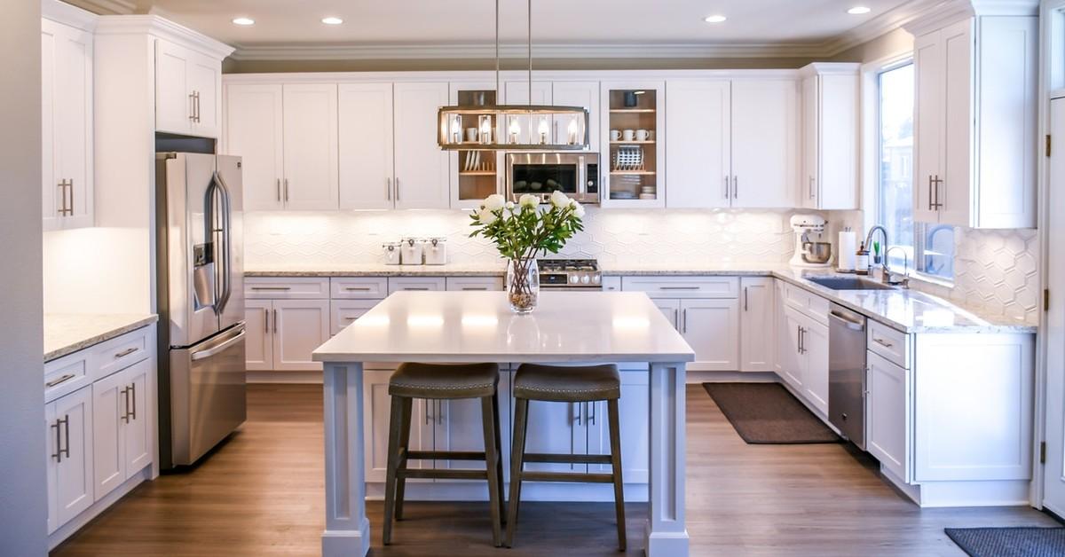 Custom Home Kitchen for Retirees