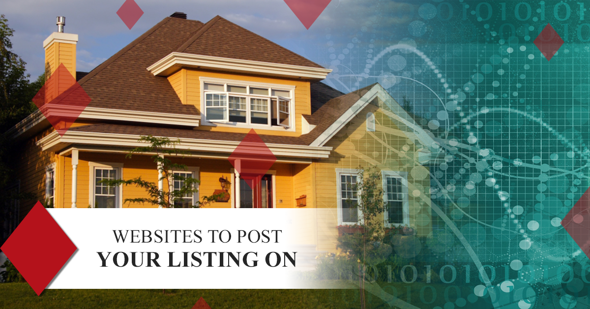 Websites To Post Your Home Or Apartment Listing On