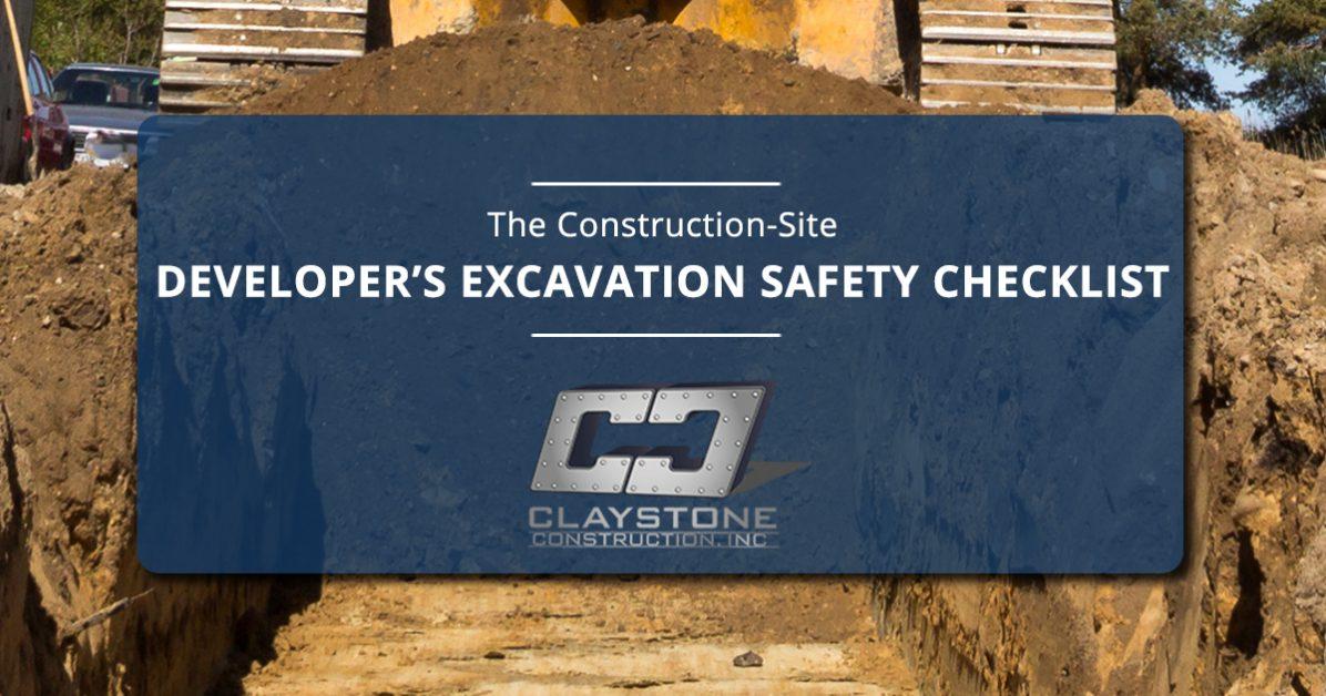 Excavating Contractor Denver The Construction Site Developer S Excavation Safety Checklist