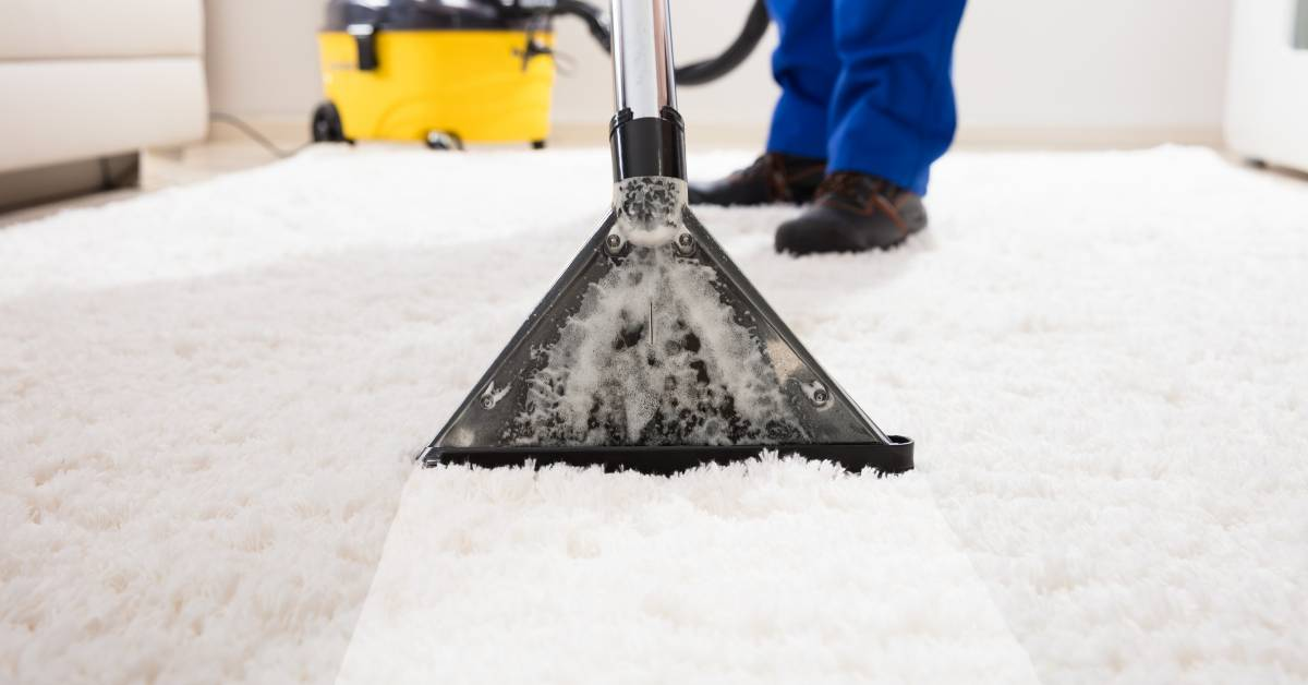 Water extraction carpet cleaning