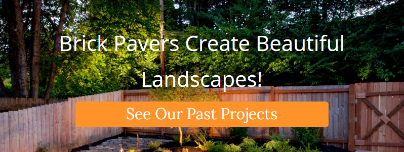 Brick pavers create beautiful landscapes!